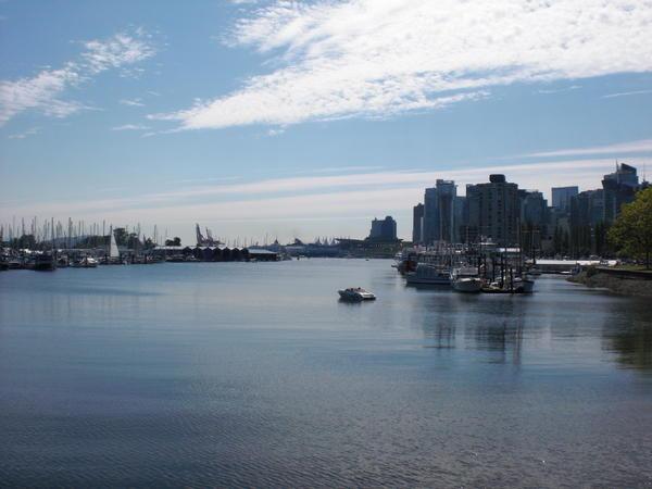 Vancouver am Sonntag