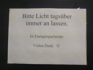 Lieber Energiesparer